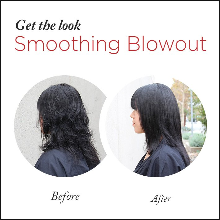 Get the Look: The Smoothing Blowout