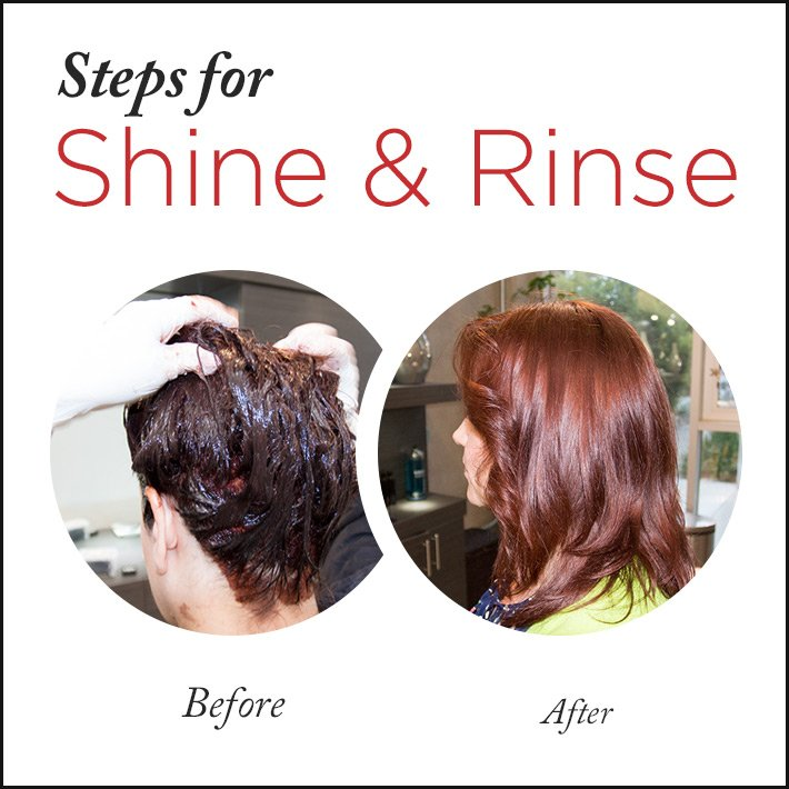 Perfect Home Hair Color with Shine & Rinse
